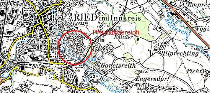 Karte Revitalisierung der Breitsach
