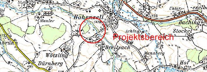 Karte RHB Wötzling
