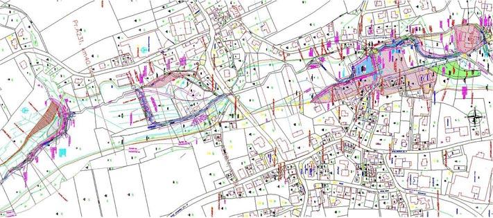 Lageplan Hochwasserschutz Eberschwang