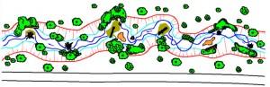 Planung/Detailansicht - Hochwasserschutz Etzelshoferbach